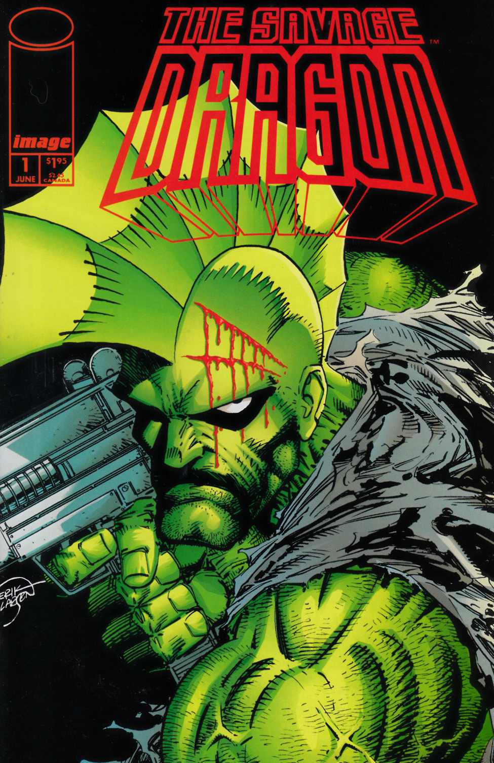 Savage Dragon #1 [Image Comic] THUMBNAIL
