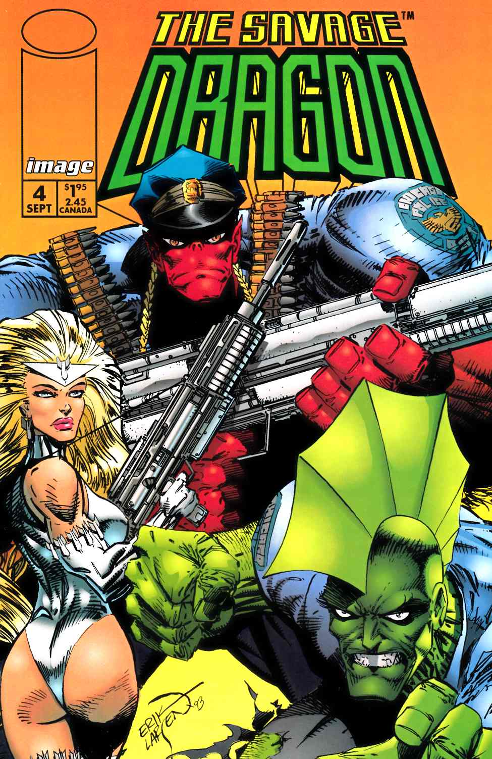 Savage Dragon #4 Near Mint (9.4) [Image Comic] THUMBNAIL