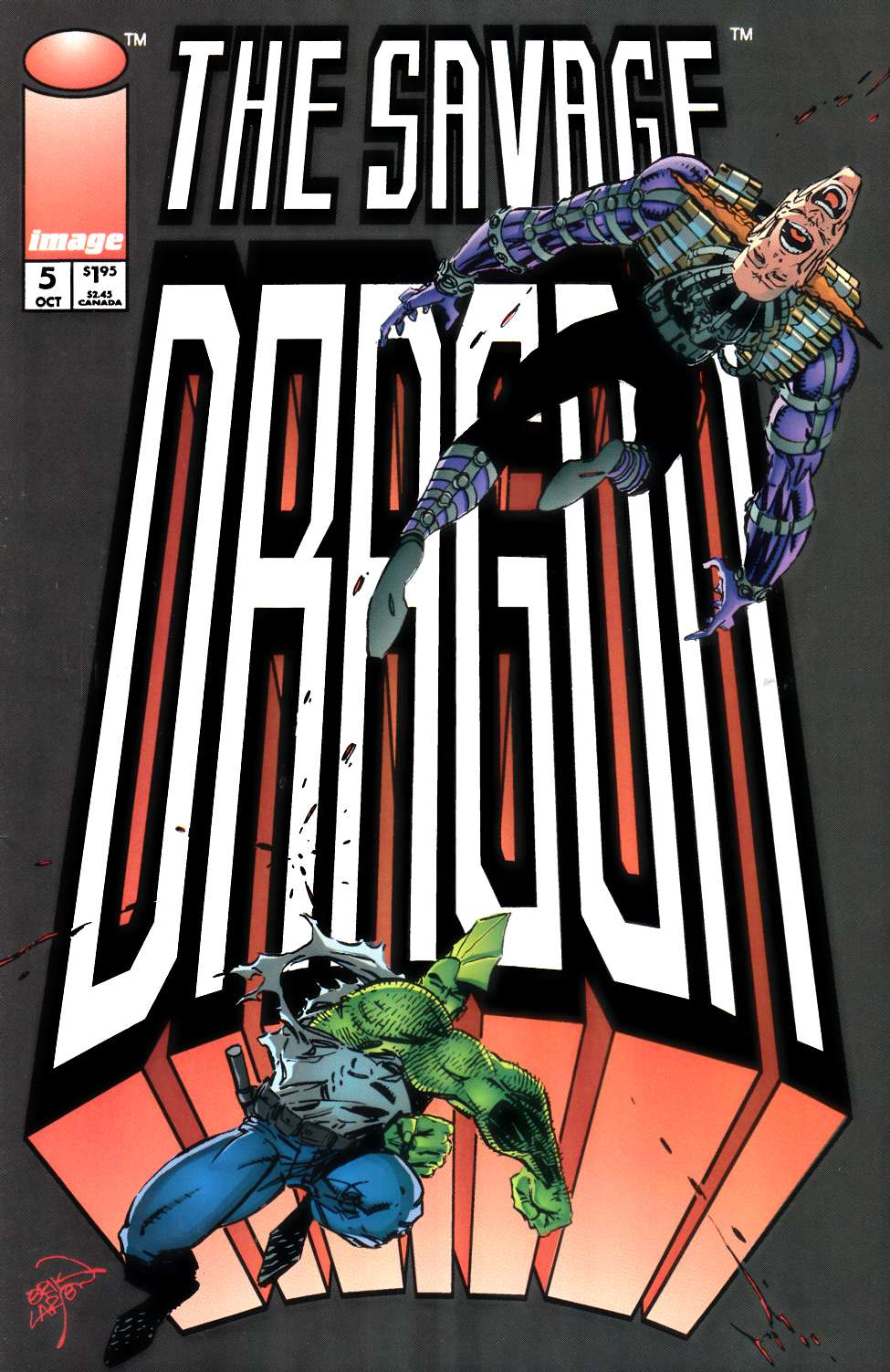 Savage Dragon #5 Near Mint (9.4) [Image Comic] THUMBNAIL