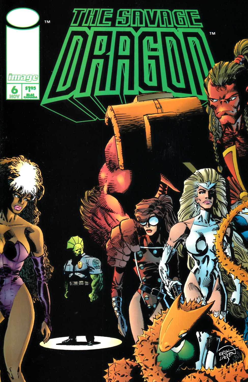 Savage Dragon #6 Near Mint (9.4) [Image Comic]_THUMBNAIL