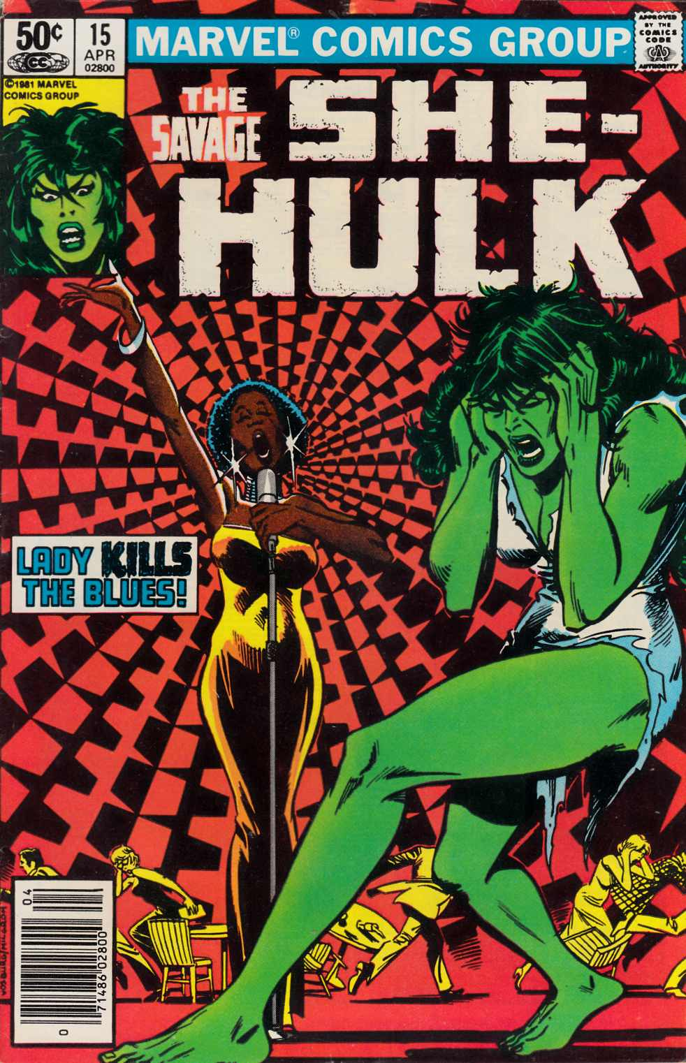 Savage She-Hulk #15 Newsstand Edition Fine (6.0) [Marvel Comic] THUMBNAIL
