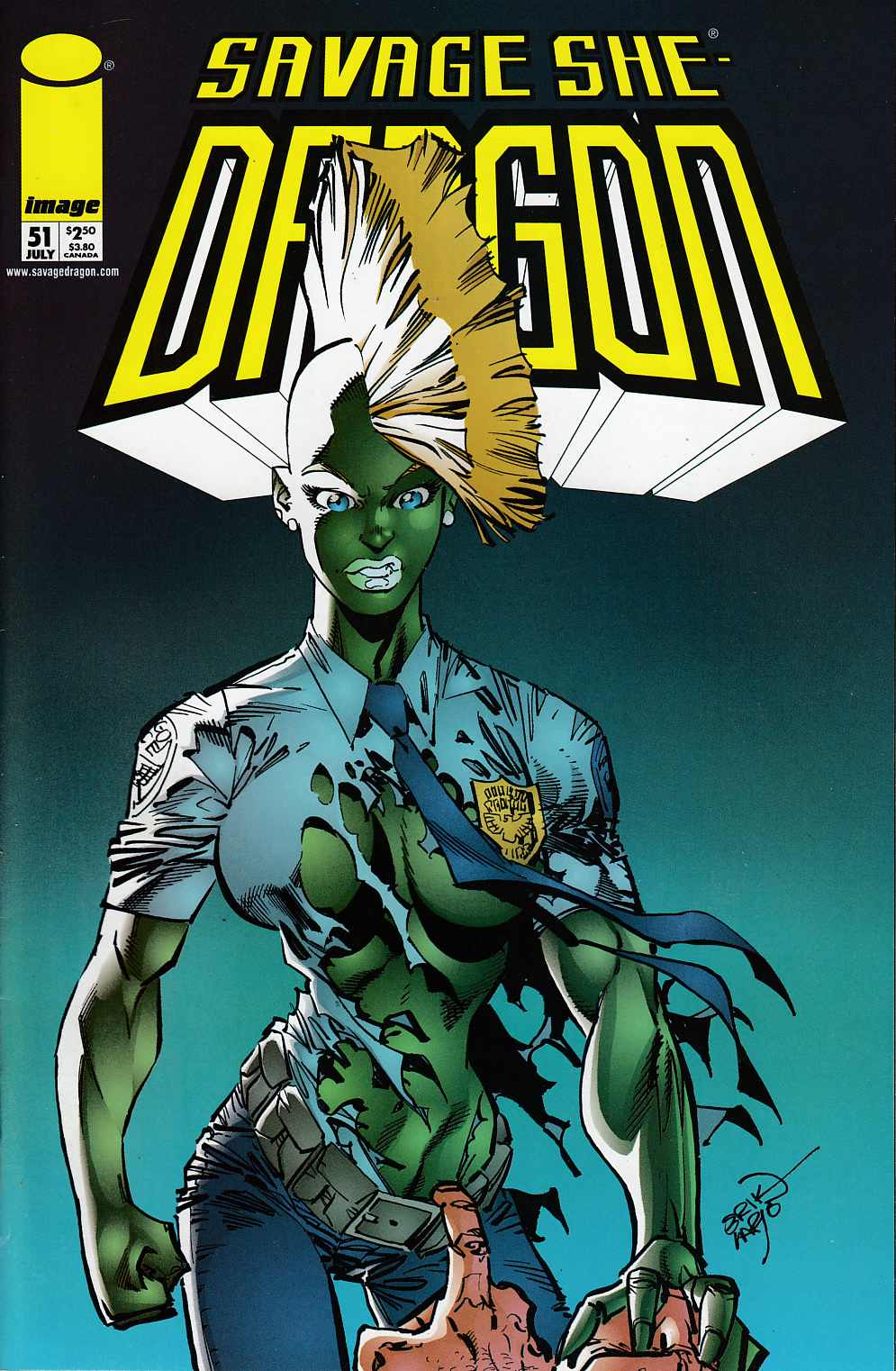Savage Dragon #51 Near Mint (9.4) [Image Comic] LARGE