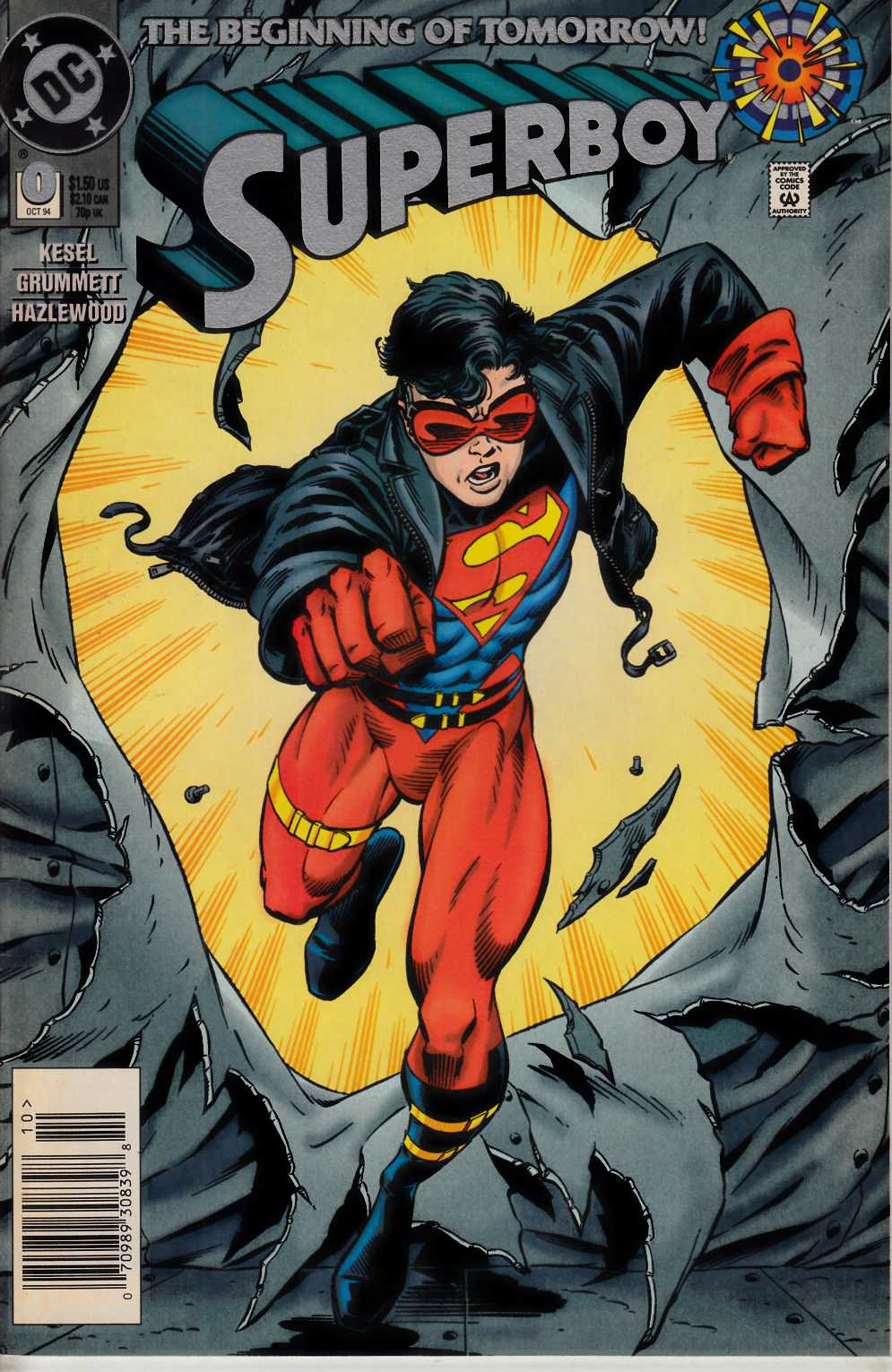 Superboy #0 Newsstand Edition Near Mint (9.4) [DC Comic] THUMBNAIL