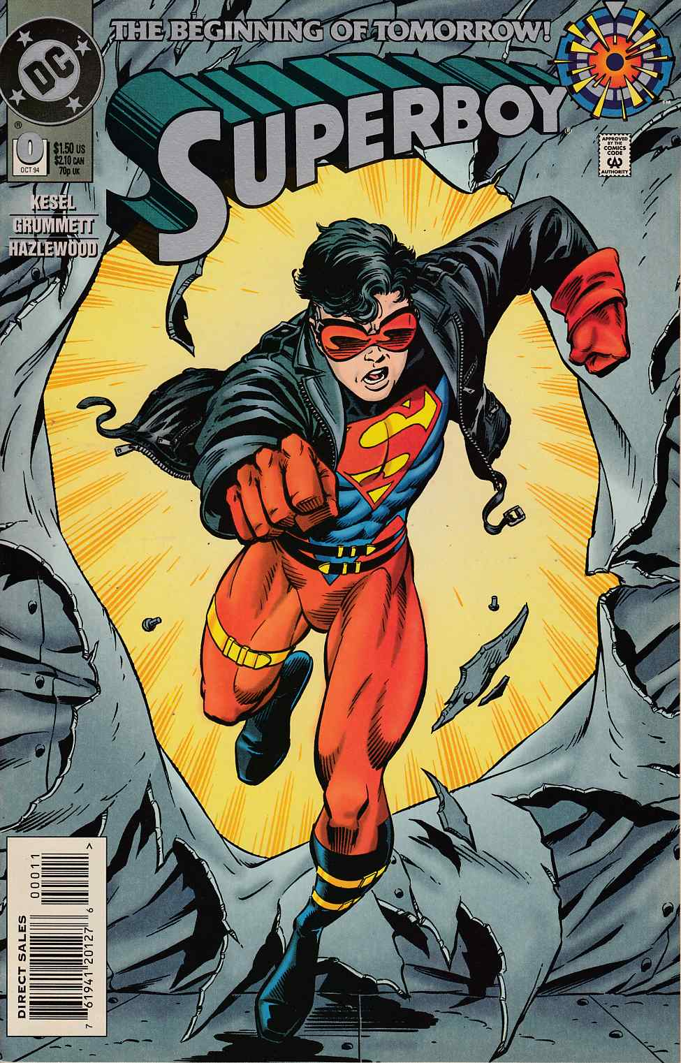 Superboy #0 Very Fine (8.0) [DC Comic] THUMBNAIL