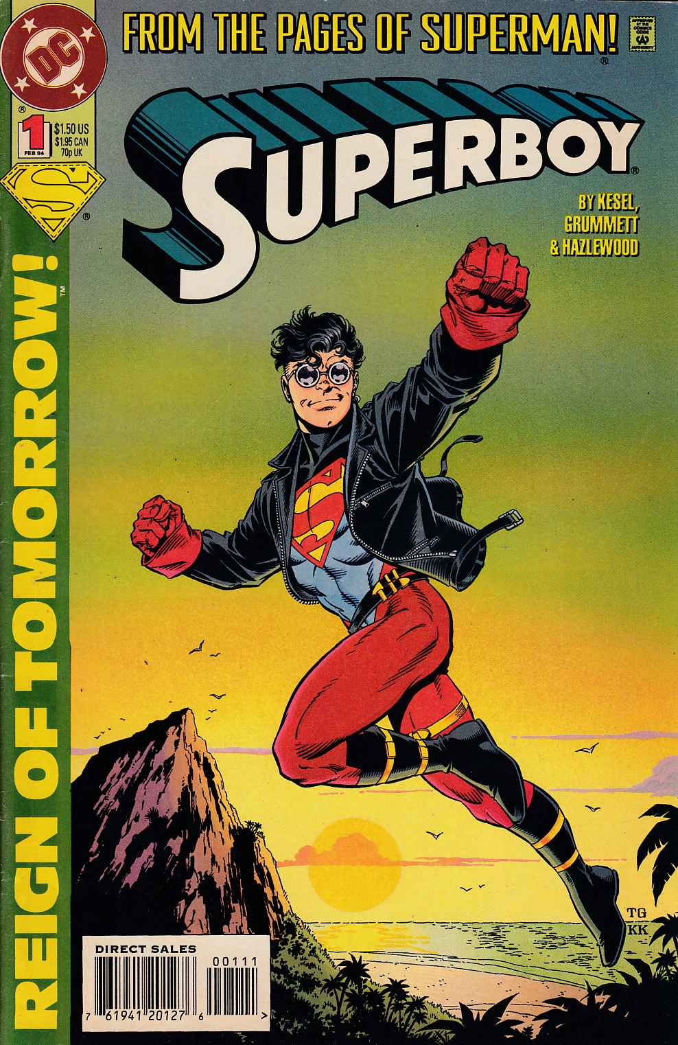 Superboy #1 Very Fine (8.0) [DC Comic] LARGE