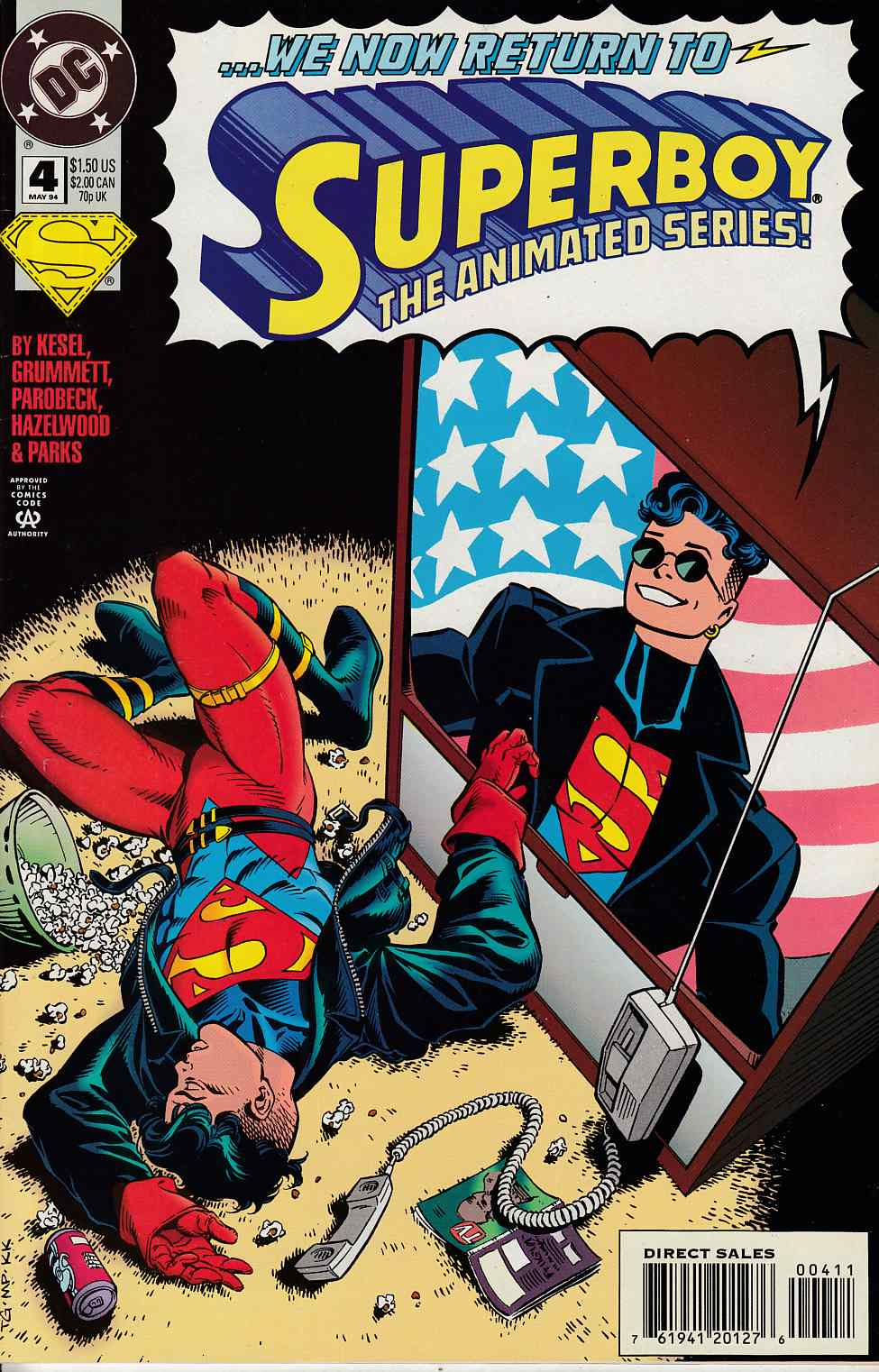 Superboy #4 Very Fine (8.0) [DC Comic] THUMBNAIL