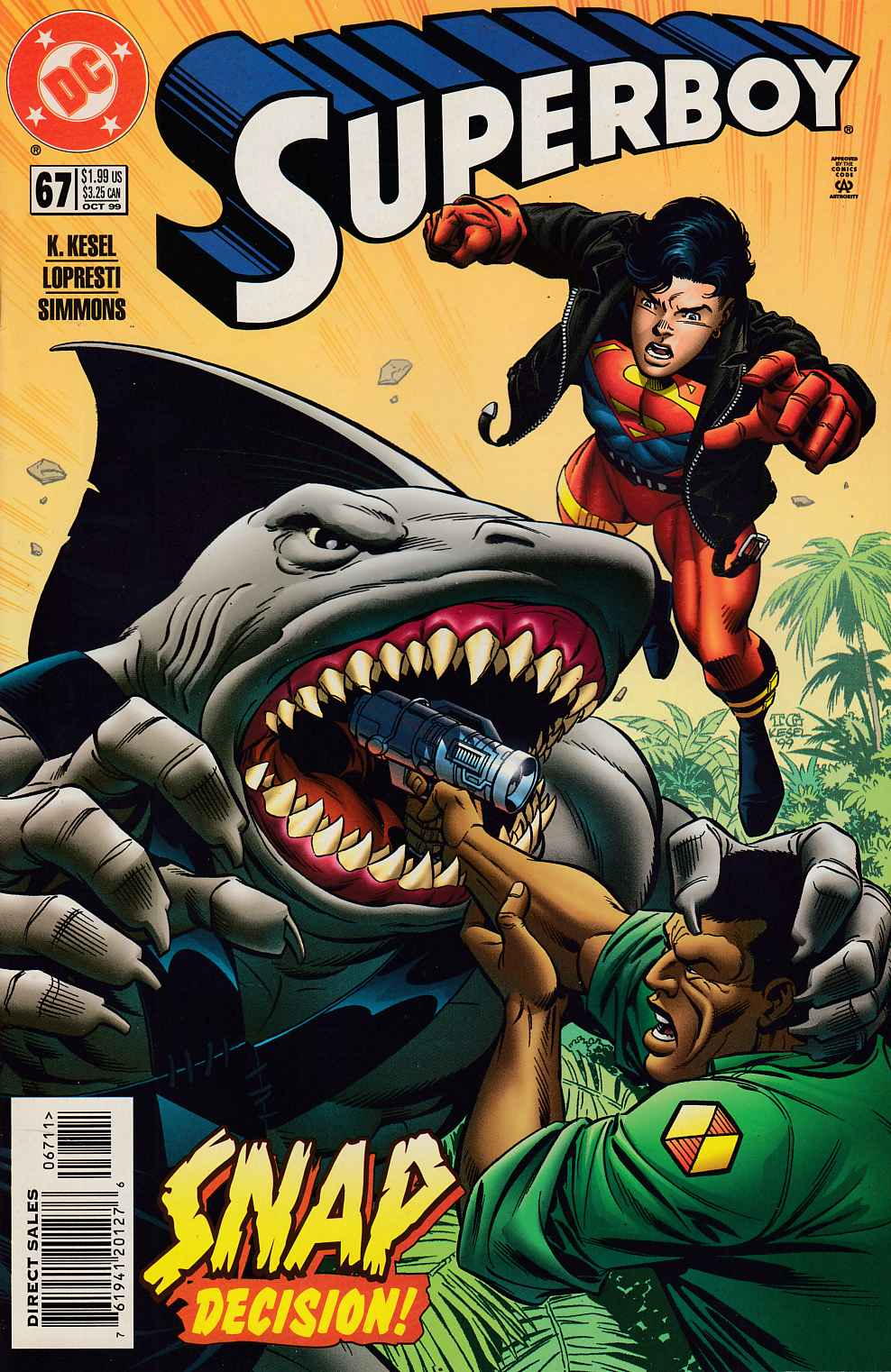 Superboy #67 Near Mint (9.4) [DC Comic] LARGE