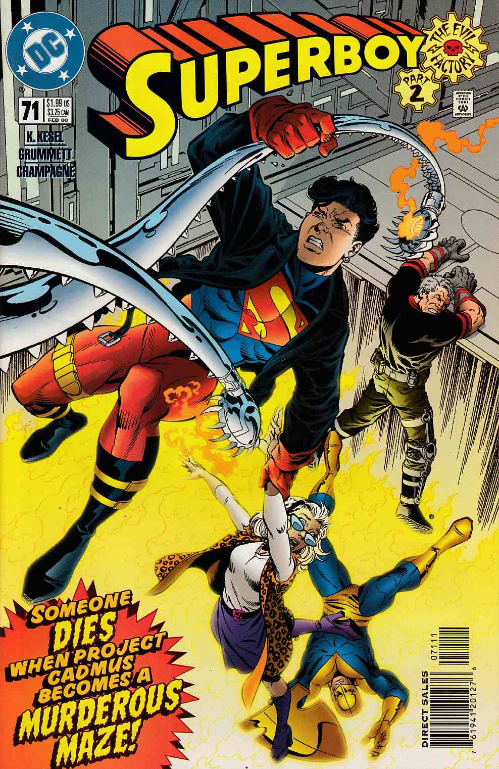 Superboy #71 Near Mint (9.4) [DC Comic] LARGE