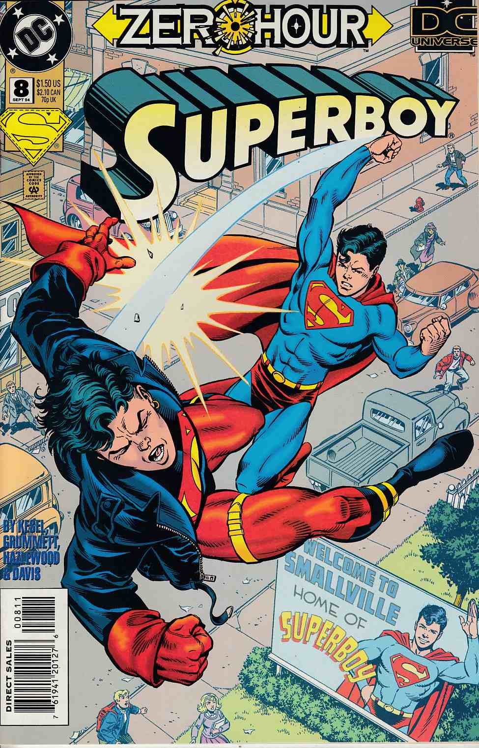 Superboy #8 Near Mint (9.4) [DC Comic] THUMBNAIL