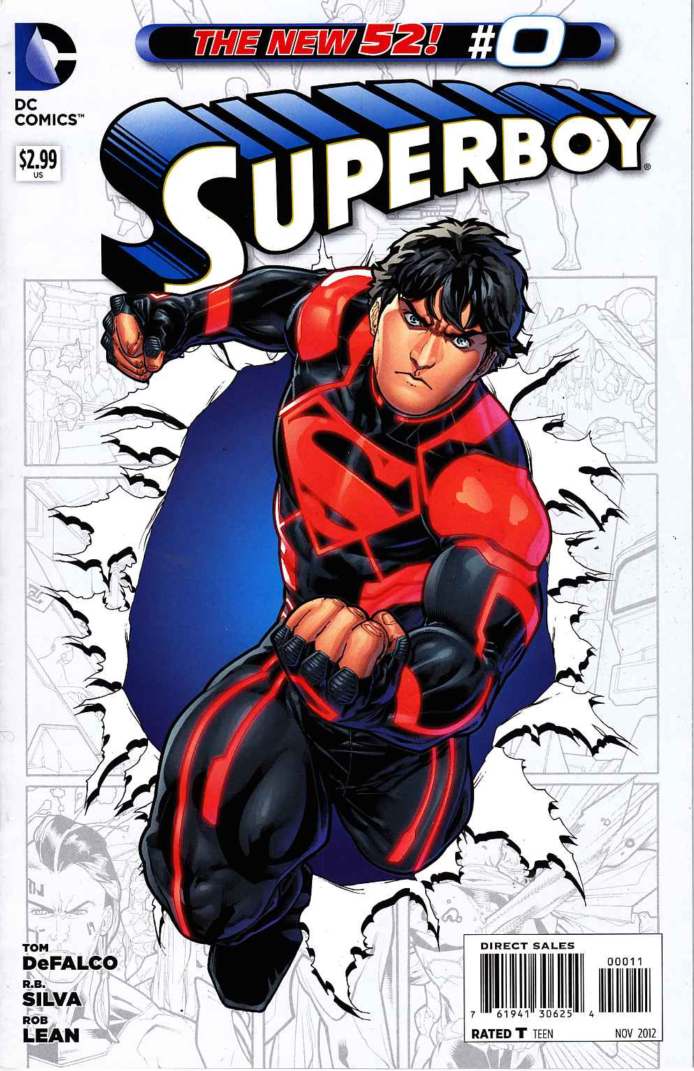 Superboy #0 [DC Comic] LARGE