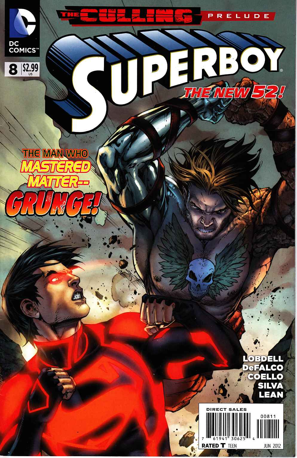 Superboy #8 [DC Comic] LARGE