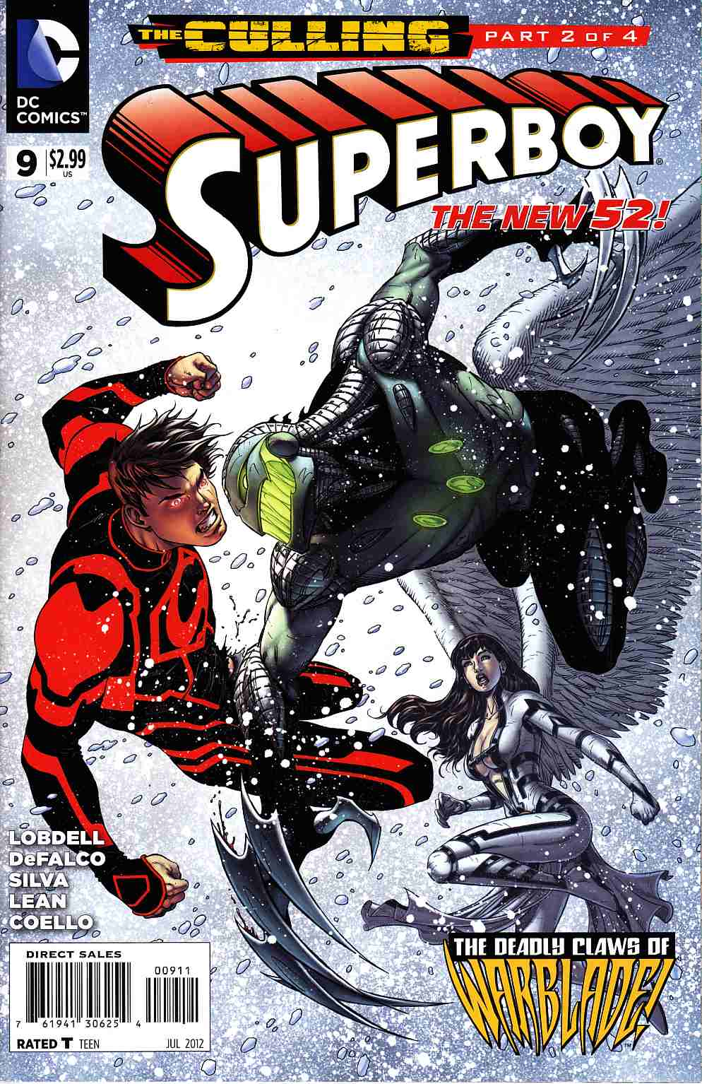 Superboy #9 (Culling) [DC Comic]