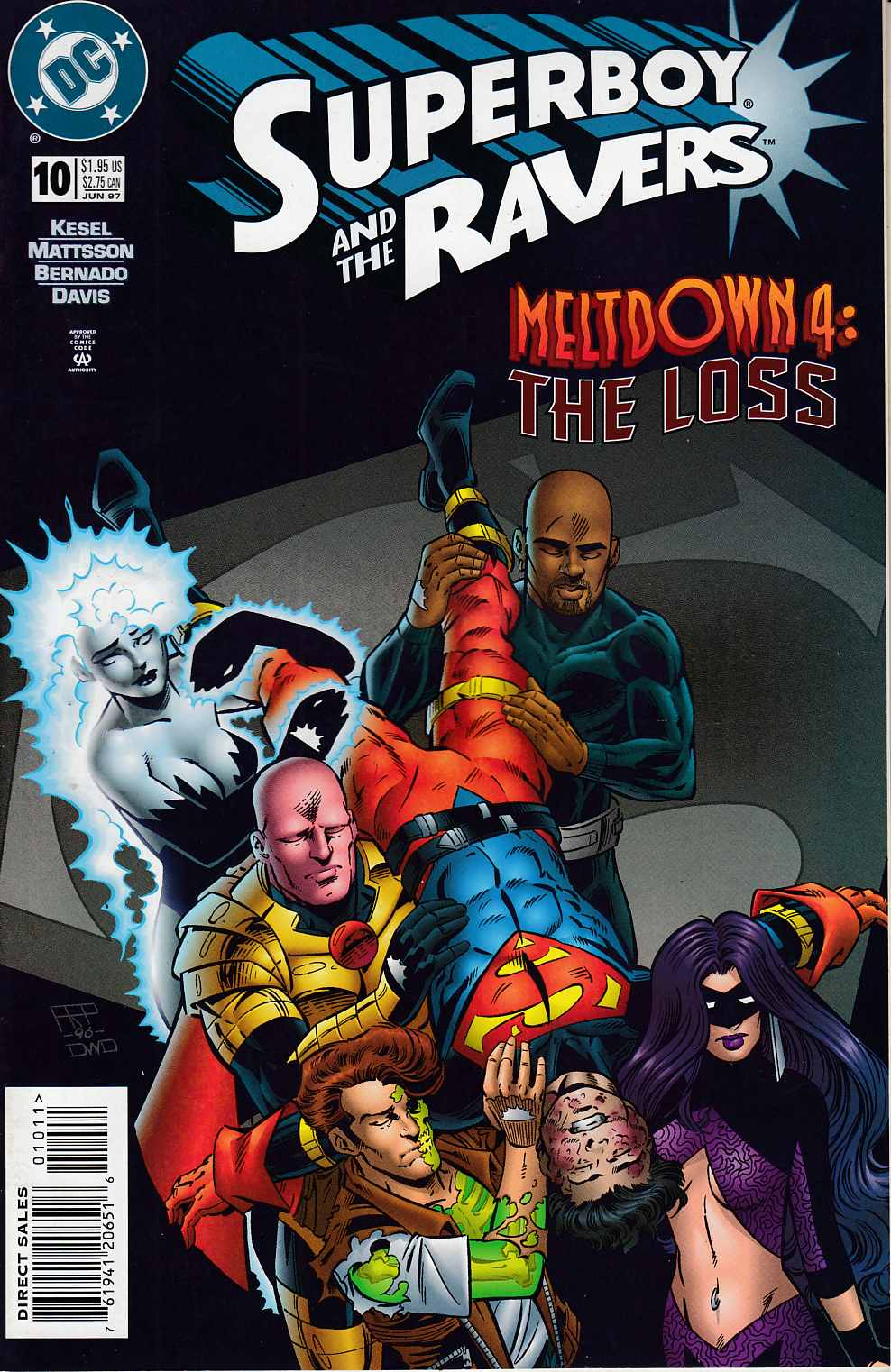 Superboy and the Ravers #10 Near Mint (9.4) [DC Comic] THUMBNAIL