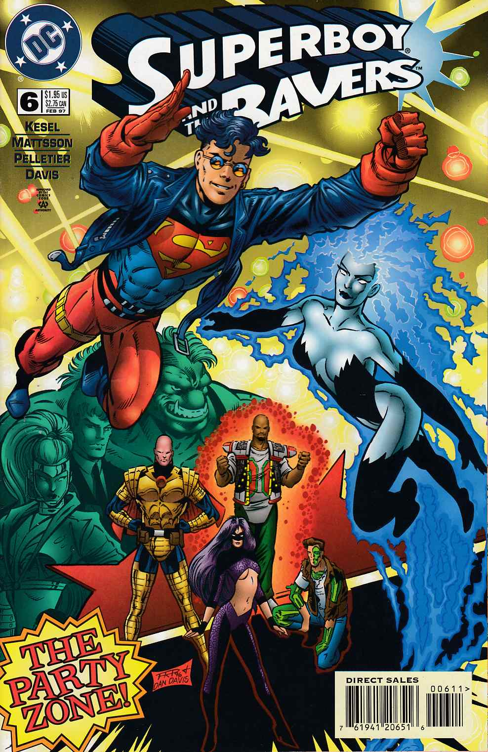 Superboy and the Ravers #6 Near Mint (9.4) [DC Comic] THUMBNAIL