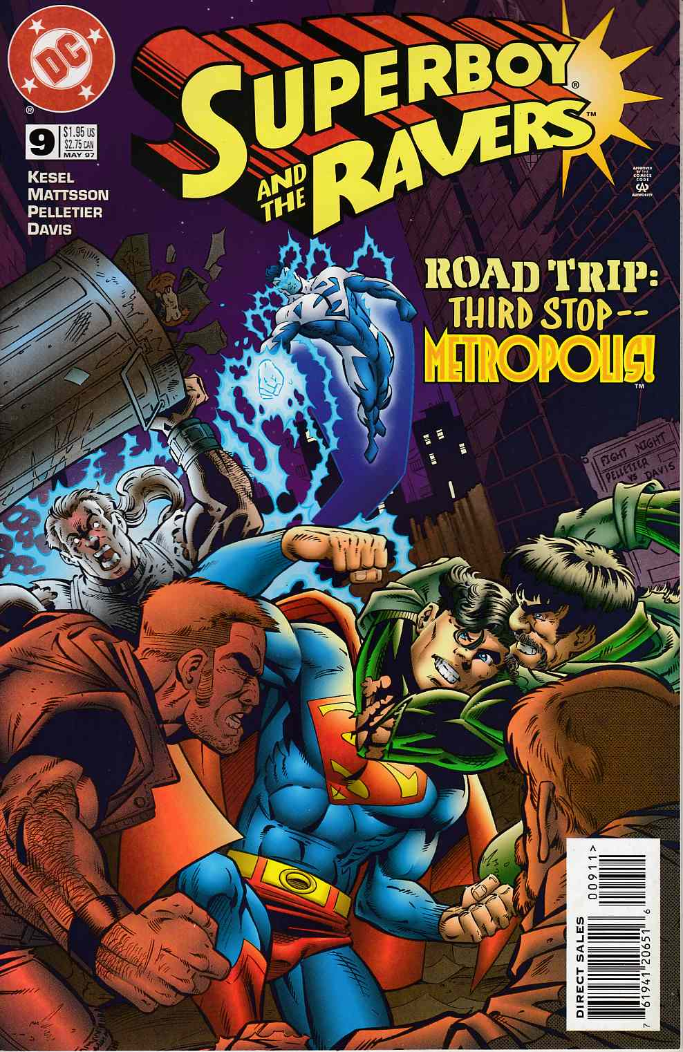Superboy and the Ravers #9 Near Mint (9.4) [DC Comic] THUMBNAIL