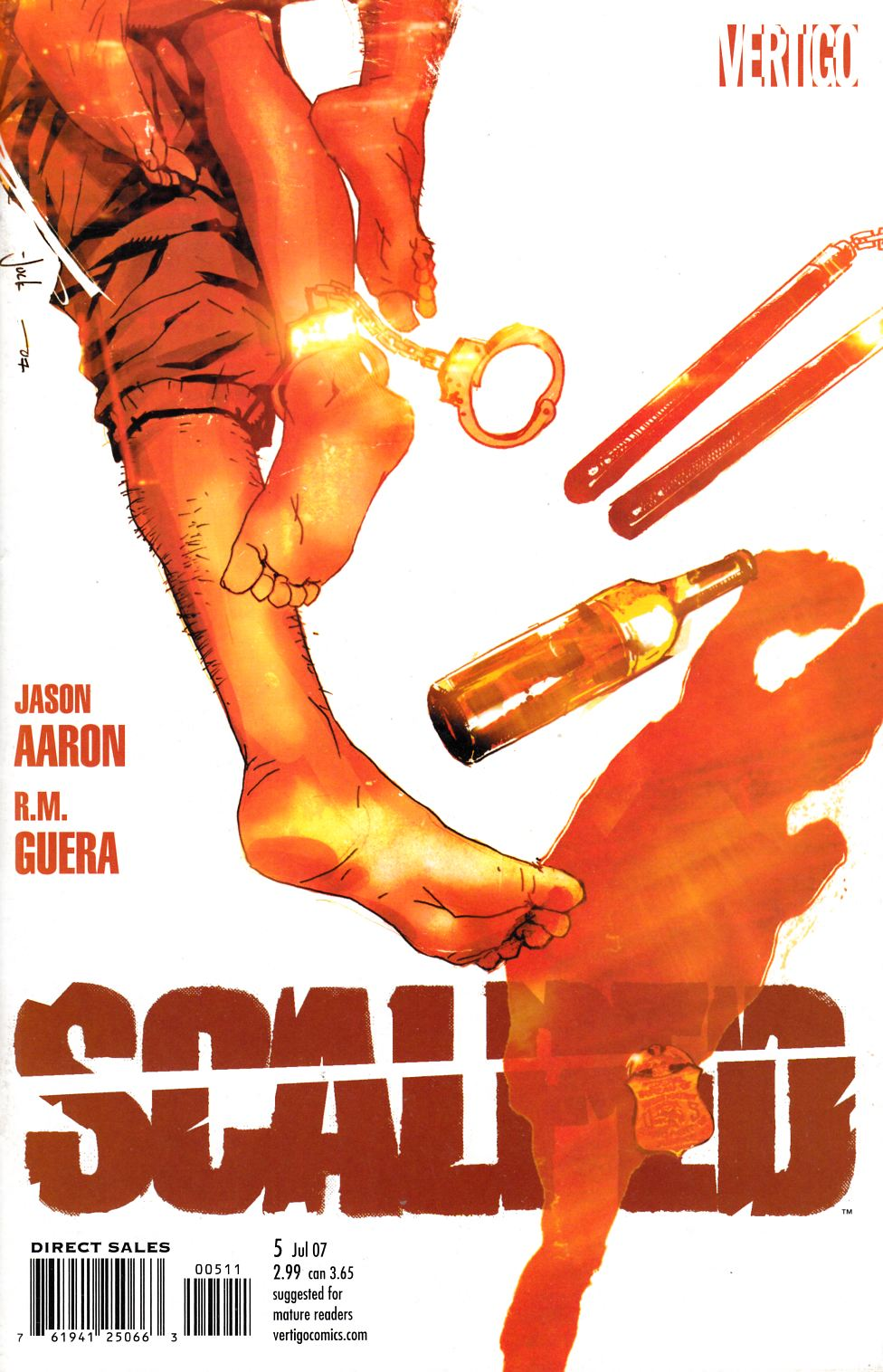 Scalped #5 [Comic] LARGE