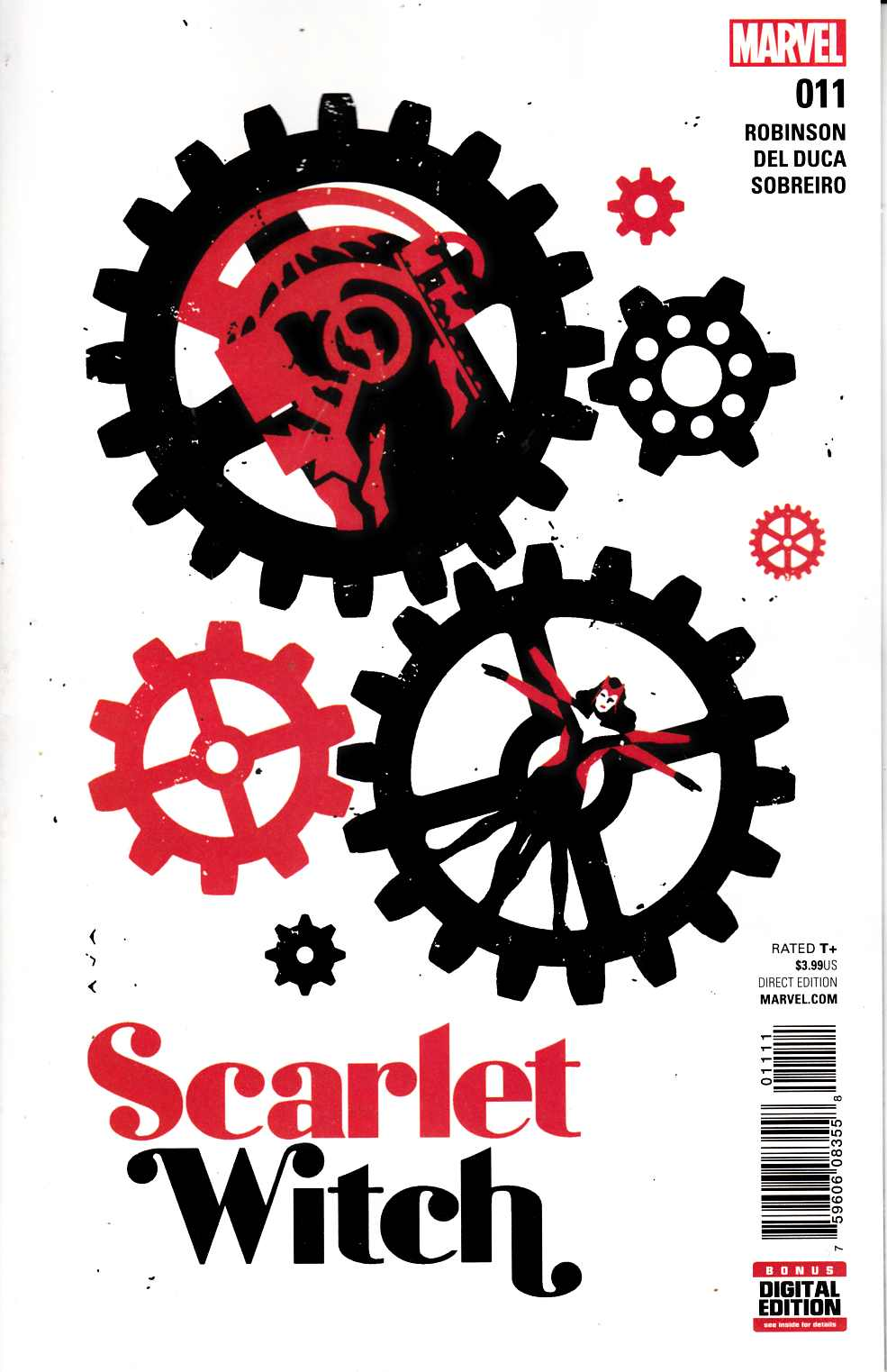 Scarlet Witch #11 [Marvel Comic] LARGE
