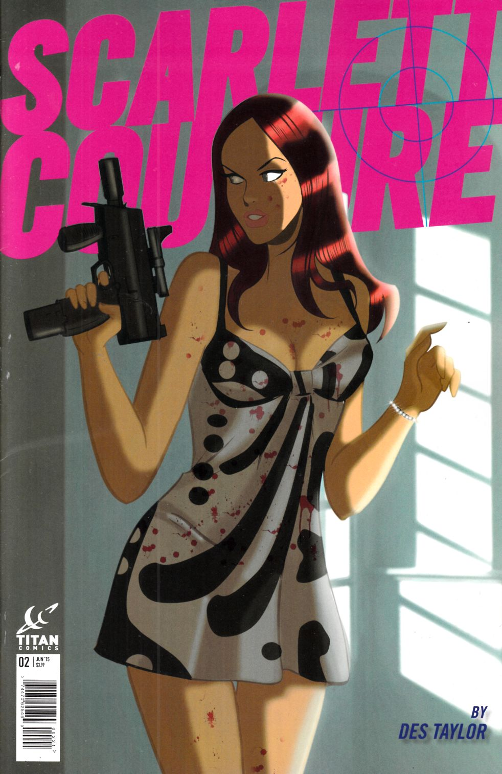 Scarlett Couture #2 Subscription Cover [Titan Comic]