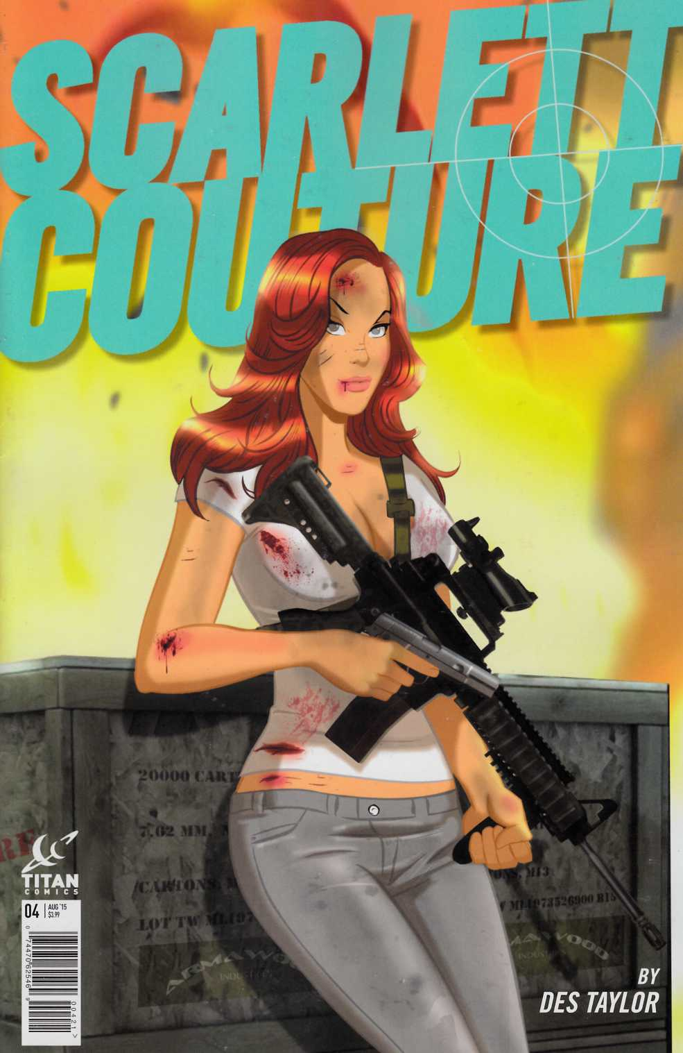 Scarlett Couture #4 Subscription Cover [Titan Comic] LARGE