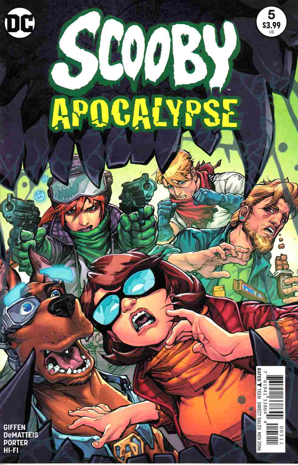 Scooby Apocalypse #5 [DC Comic] LARGE
