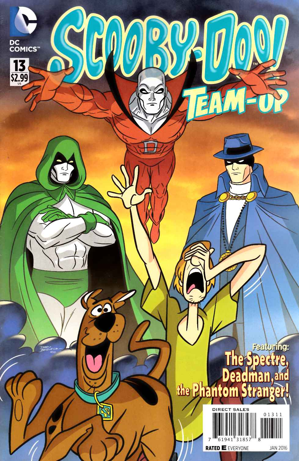 Scooby Doo Team Up #13 [DC Comic] THUMBNAIL