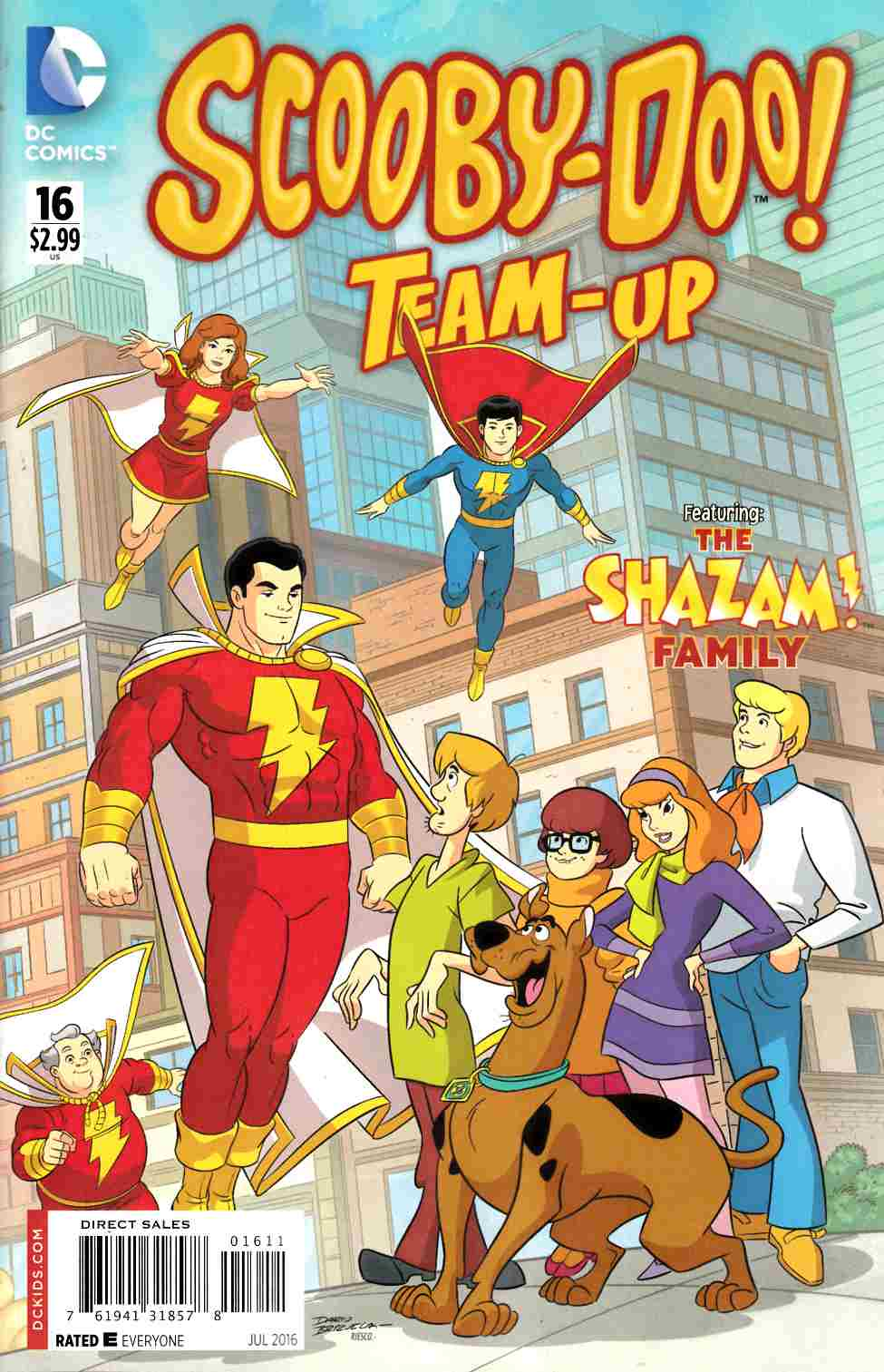 Scooby Doo Team Up #16 [DC Comic] THUMBNAIL