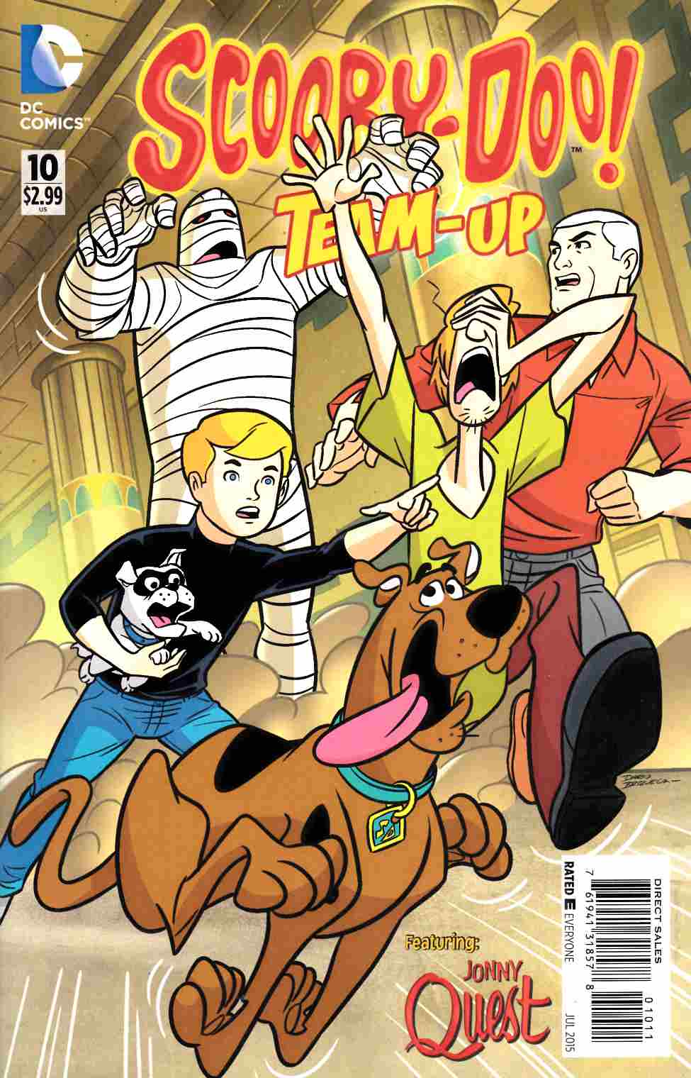 Scooby Doo Team Up #10 [DC Comic] THUMBNAIL
