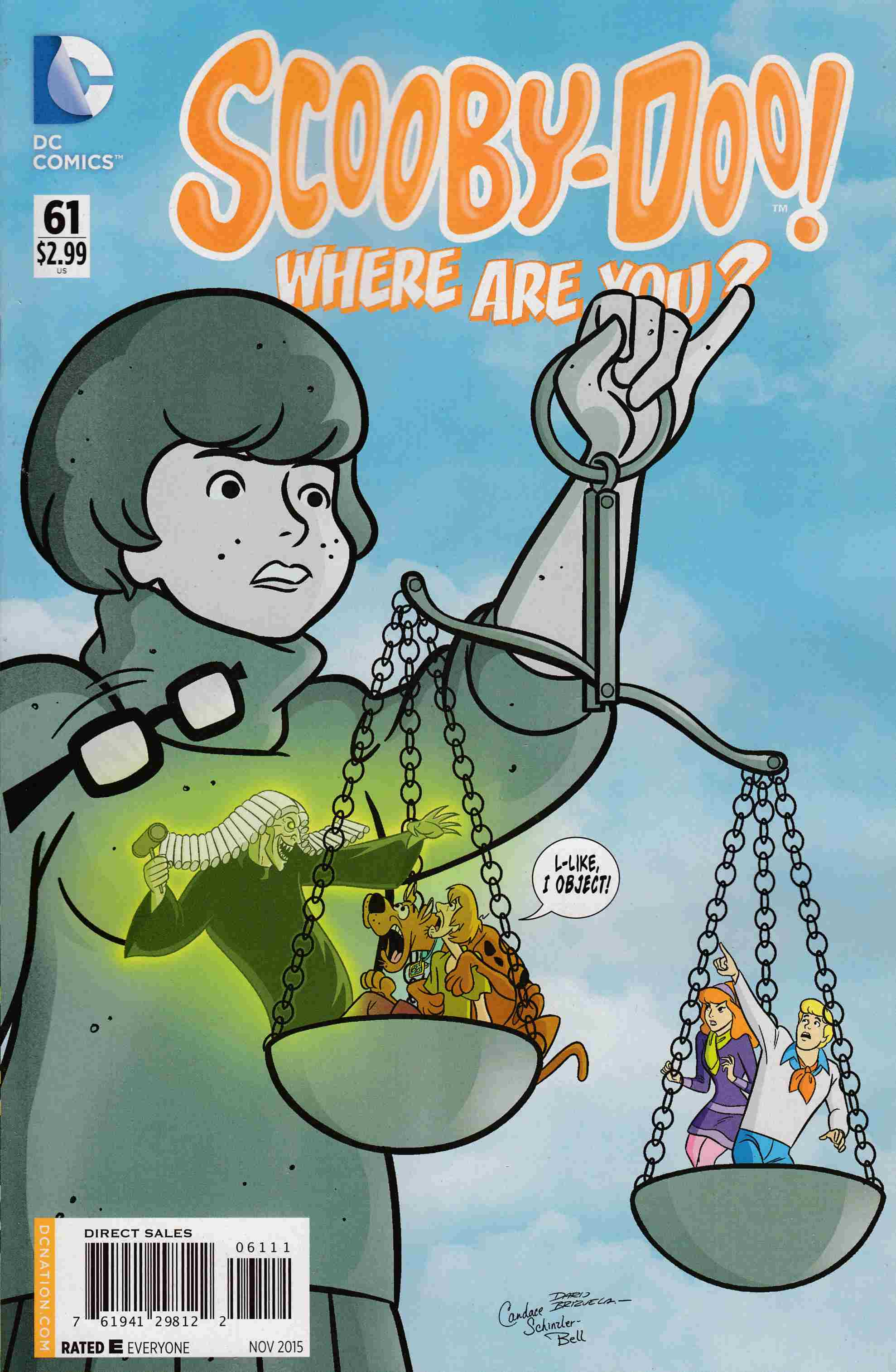 Scooby Doo Where Are You #61 [DC Comic] THUMBNAIL