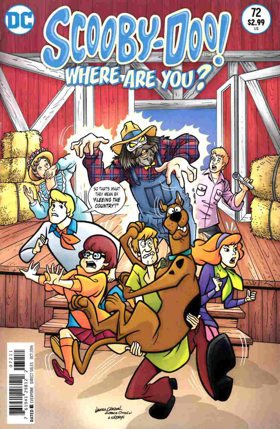 Scooby Doo Where Are You #72 [DC Comic] THUMBNAIL