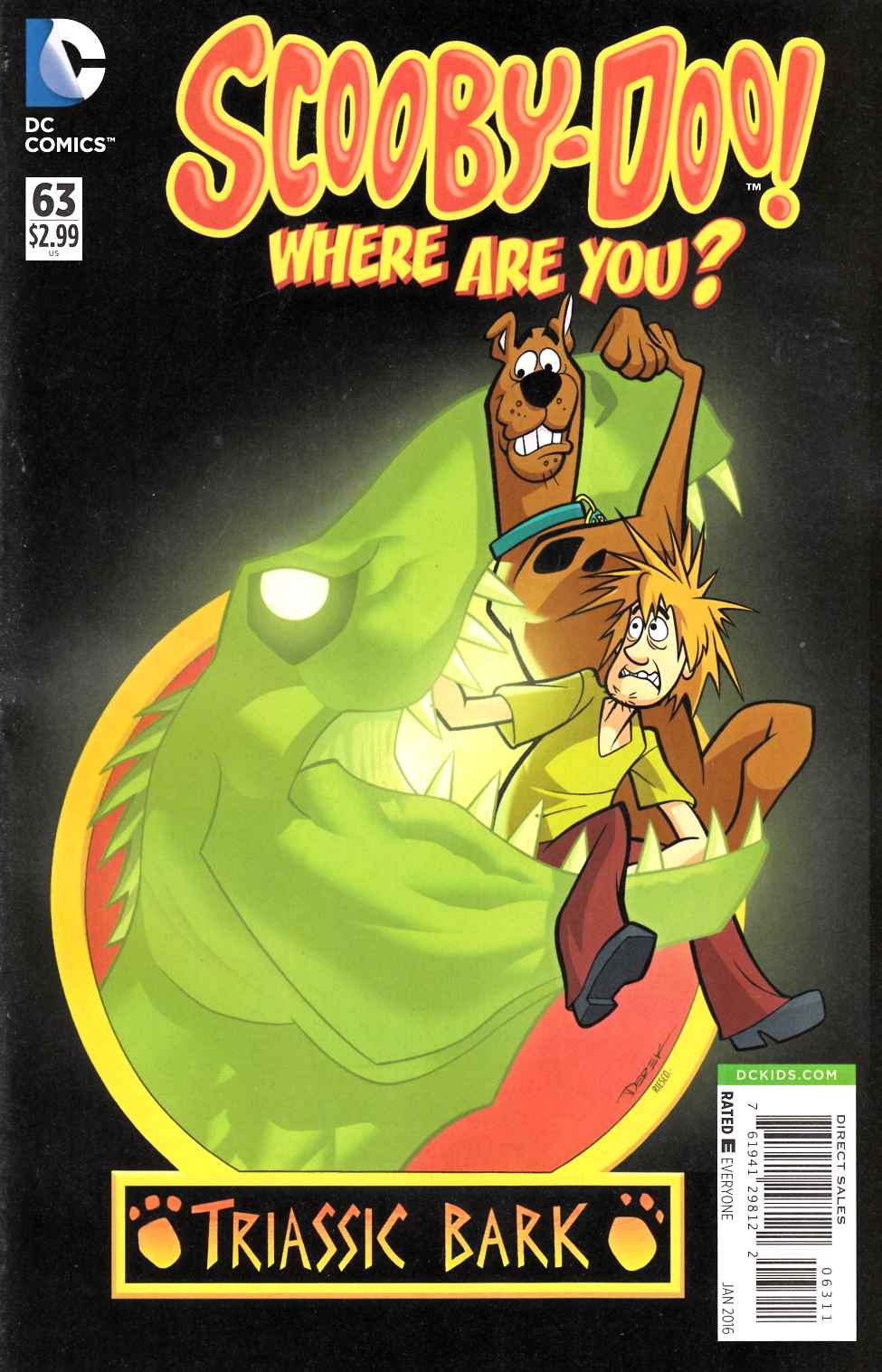 Scooby Doo Where Are You #63 [DC Comic] THUMBNAIL