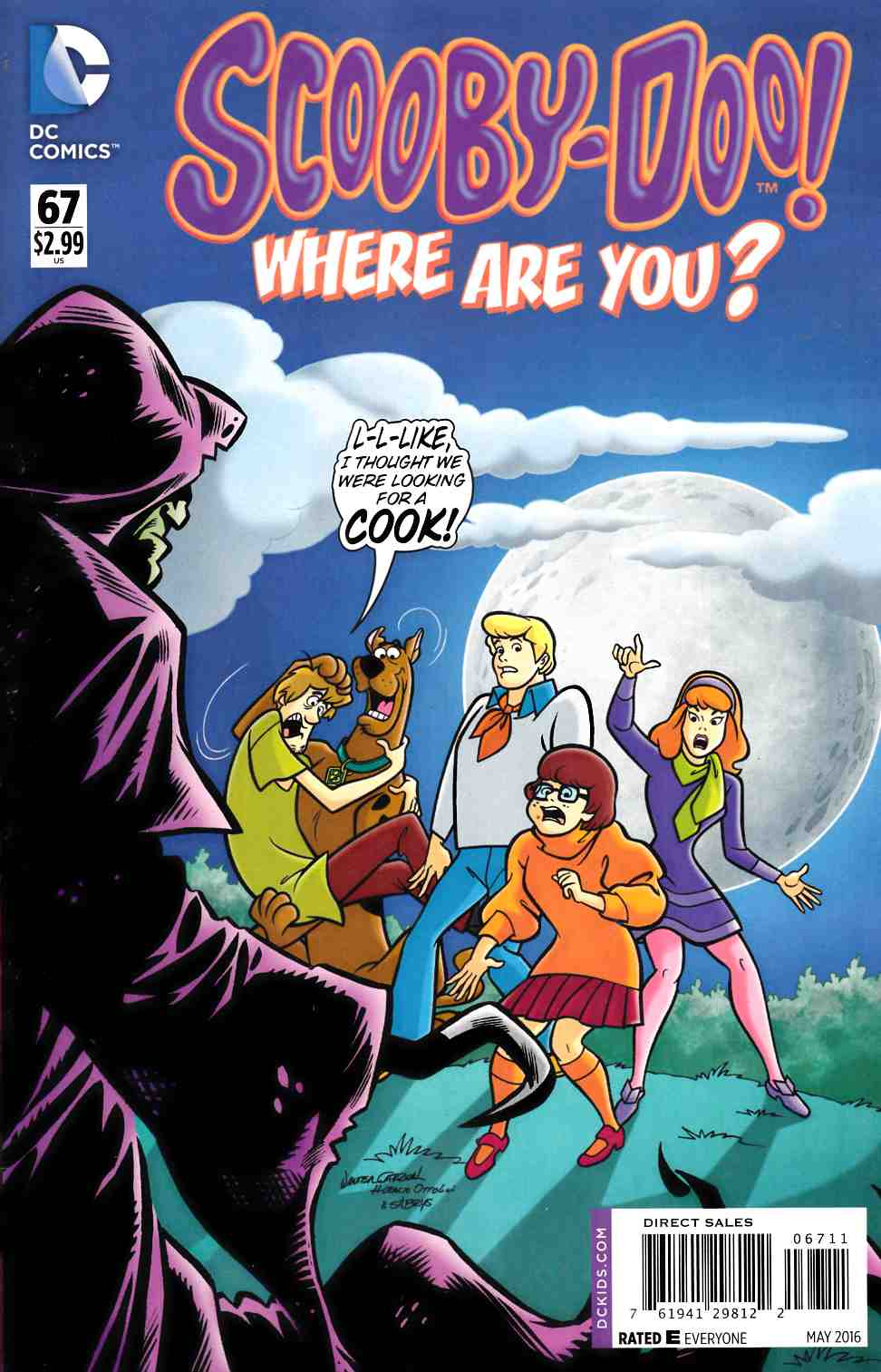 Scooby Doo Where Are You #67 [DC Comic] THUMBNAIL