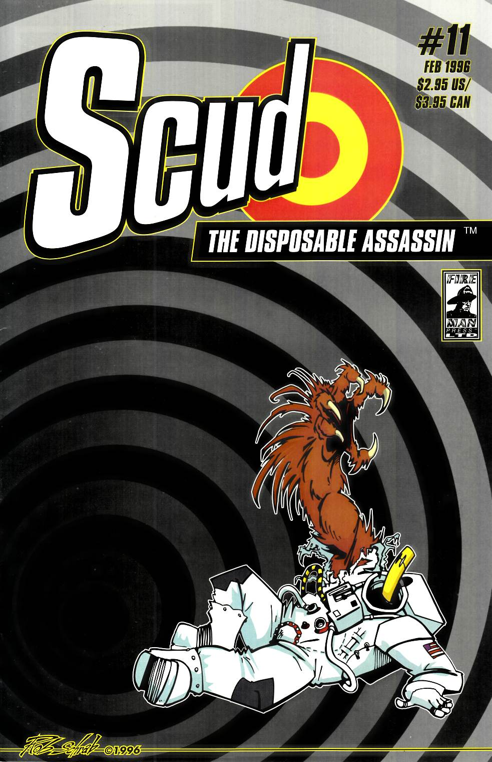 Scud the Disposable Assassin #11 [Fireman Press Comic] THUMBNAIL