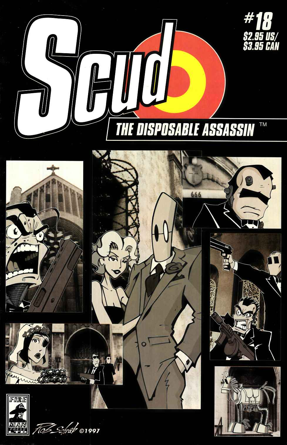 Scud the Disposable Assassin #18 [Fireman Press Comic] THUMBNAIL
