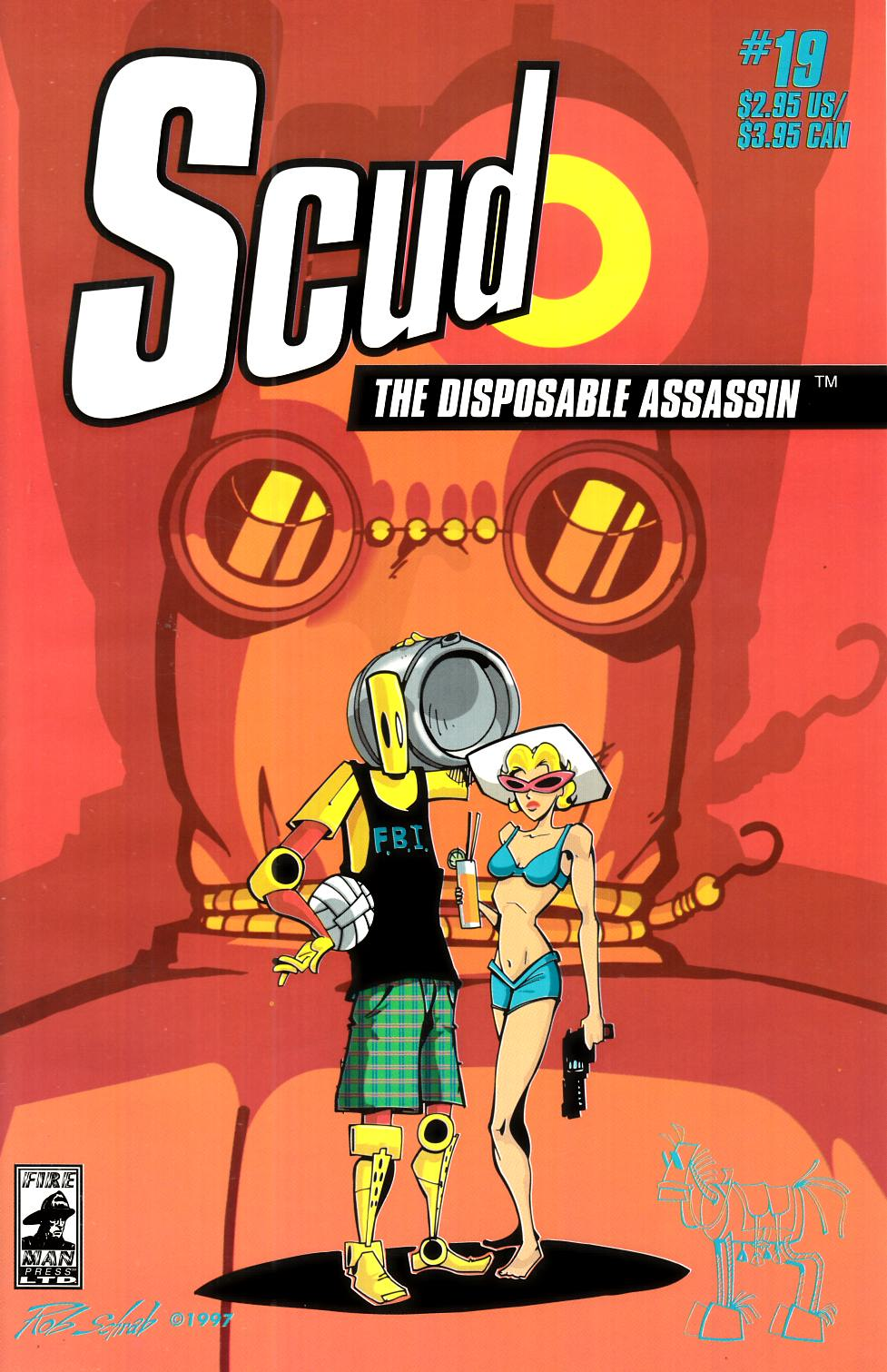 Scud the Disposable Assassin #19 [Fireman Press Comic] THUMBNAIL