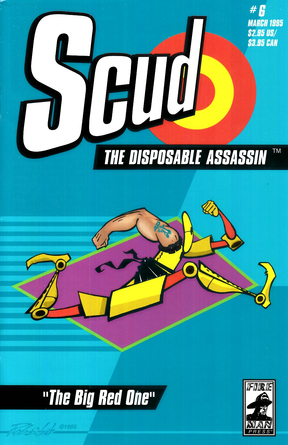 Scud the Disposable Assassin #6 [Fireman Press Comic] THUMBNAIL