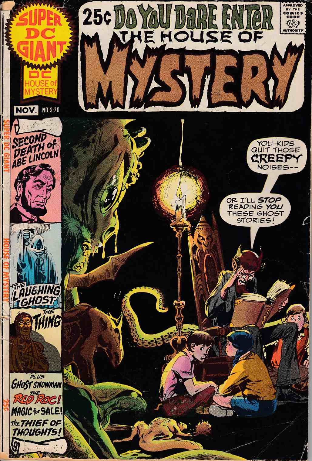 Super DC Giant #20 House of Mystery Good (2.0) [DC Comic]_THUMBNAIL