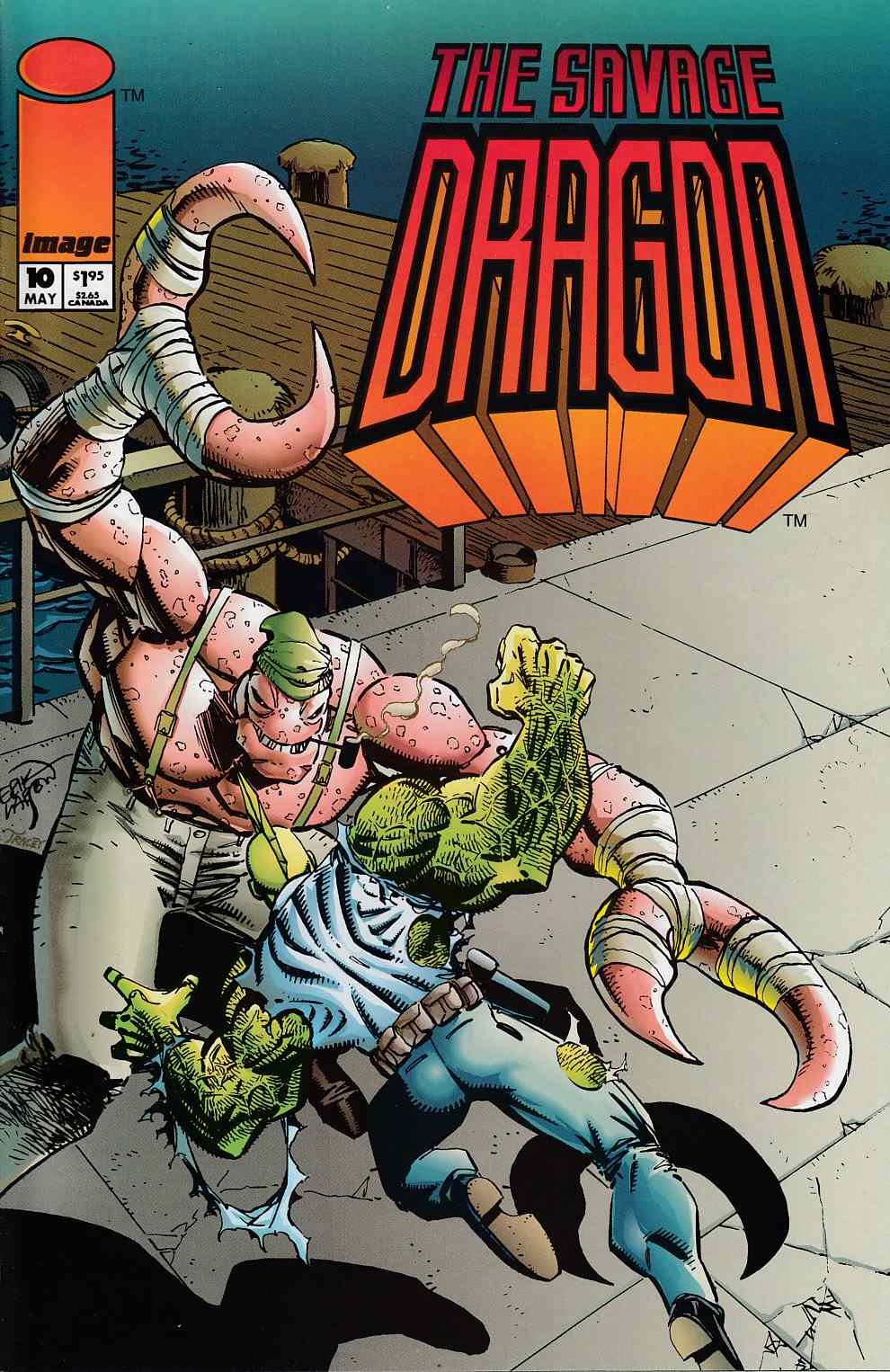 Savage Dragon #10 Very Fine (8.0) [Image Comic]_THUMBNAIL