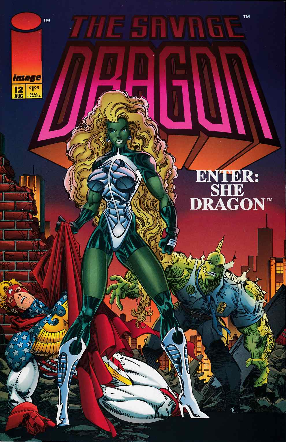 Savage Dragon #12 Near Mint (9.4) [Image Comic] THUMBNAIL