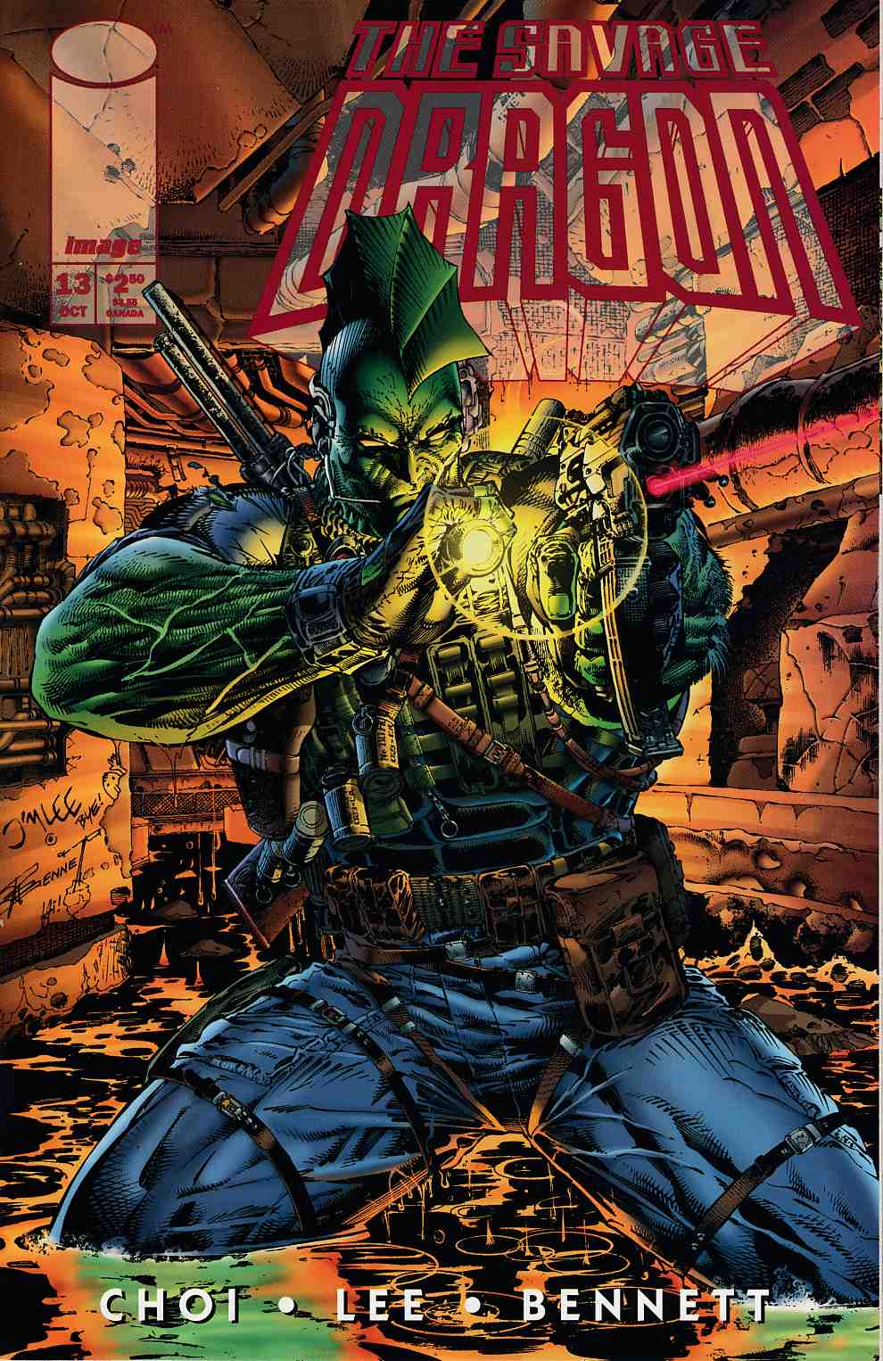Savage Dragon #13A Near Mint (9.4) [Image Comic] THUMBNAIL