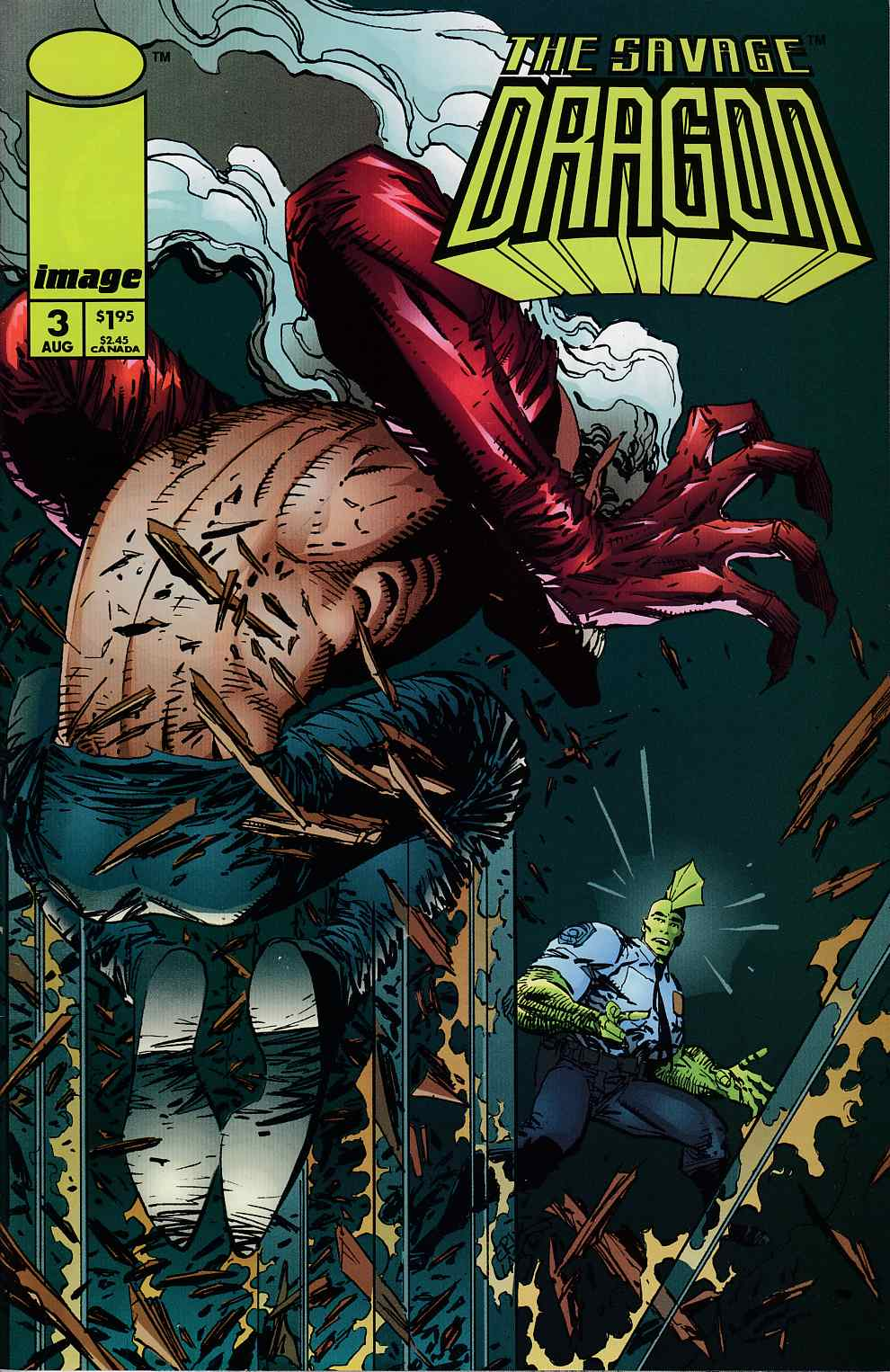Savage Dragon #3 Near Mint Minus (9.2) [Image Comic] THUMBNAIL