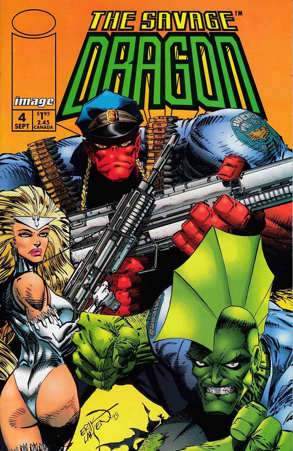 Savage Dragon #4 Near Mint Minus (9.2) [Image Comic]_THUMBNAIL