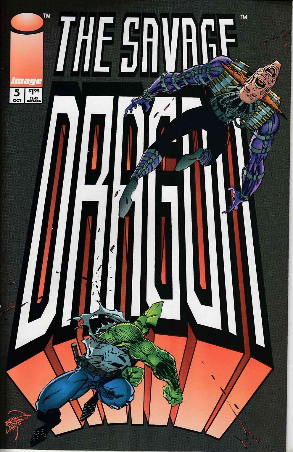 Savage Dragon #5 Very Fine Minus (7.5) [Image Comic]_THUMBNAIL