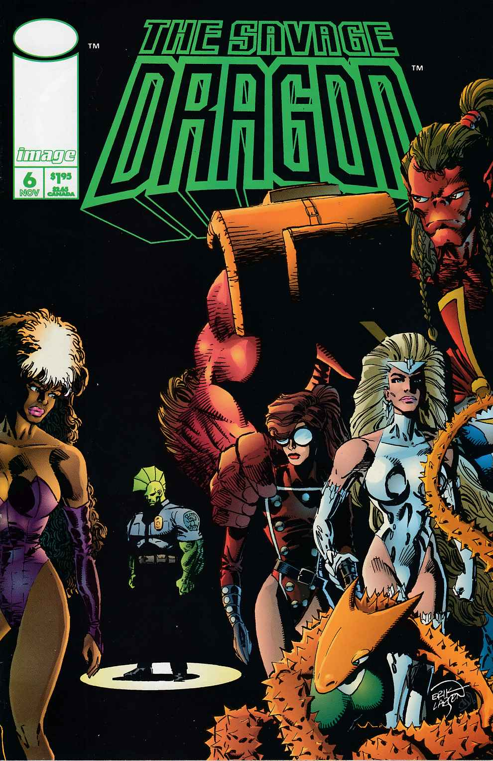 Savage Dragon #6 Very Fine (8.0) [Image Comic] THUMBNAIL