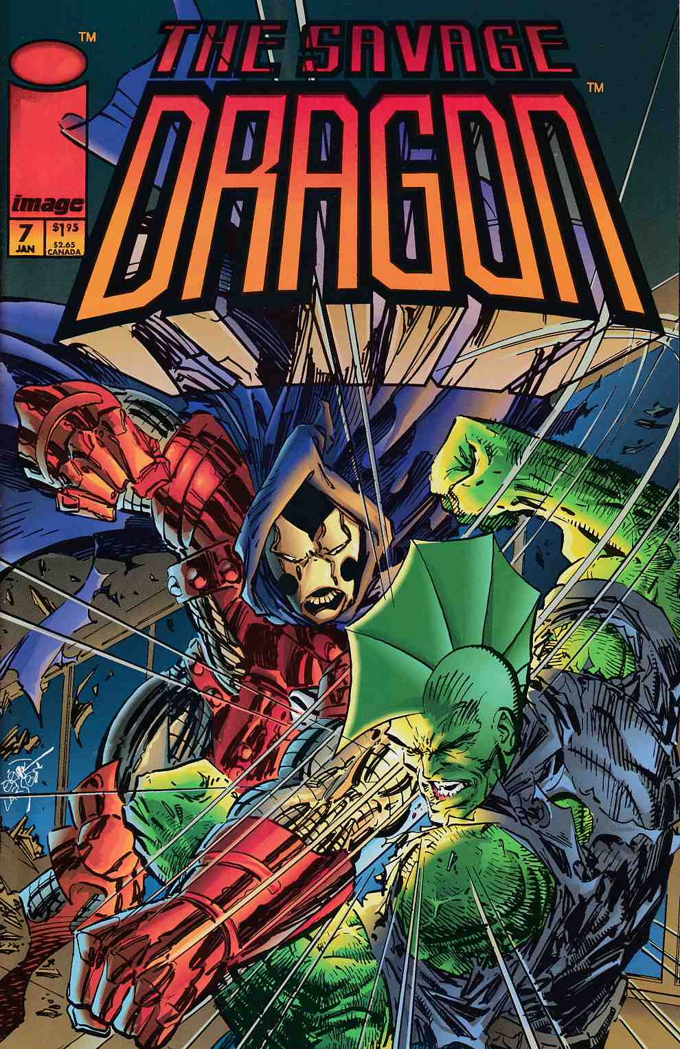 Savage Dragon #7 Very Fine (8.0) [Image Comic]_THUMBNAIL
