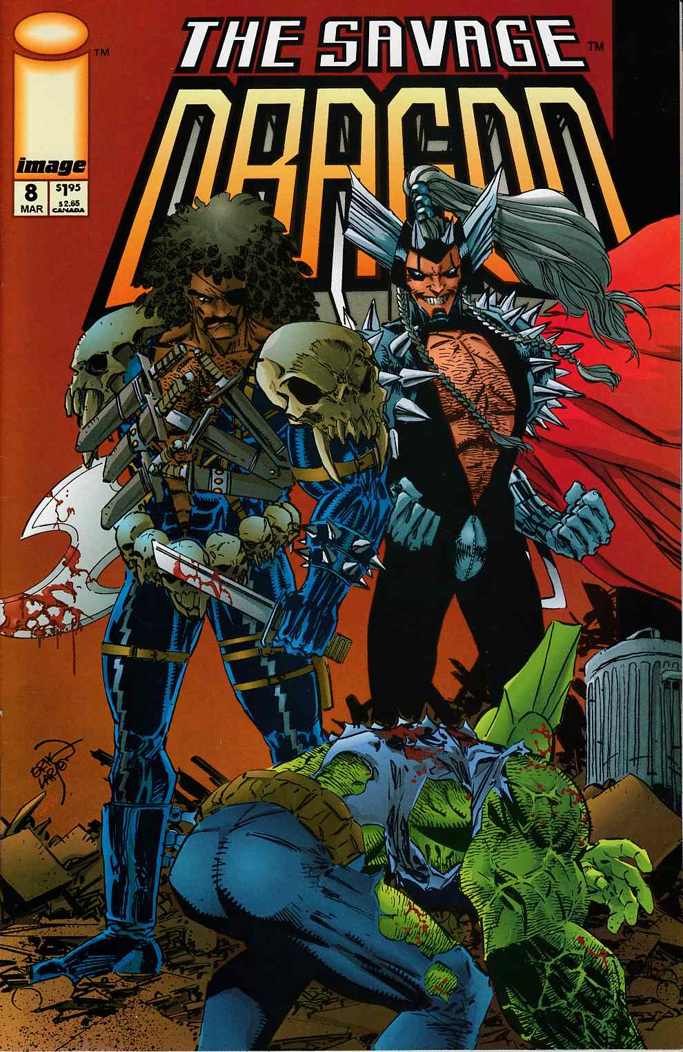 Savage Dragon #8 Very Fine (8.0) [Image Comic] THUMBNAIL