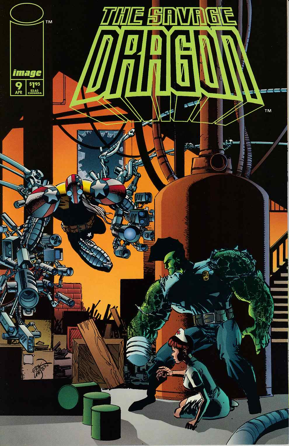 Savage Dragon #9 Near Mint (9.4) [Image Comic] LARGE