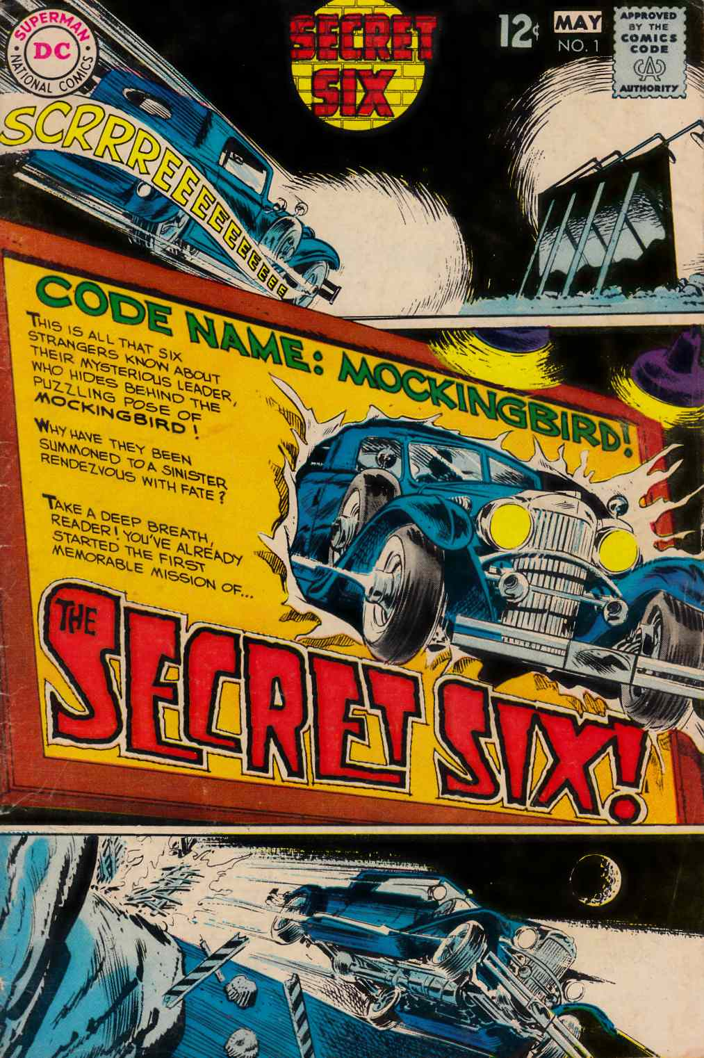 Secret Six #1 [DC Comic] THUMBNAIL