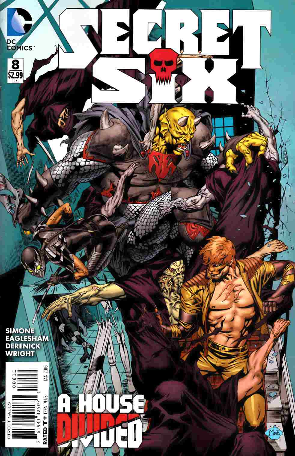 Secret Six #8 [DC Comic]