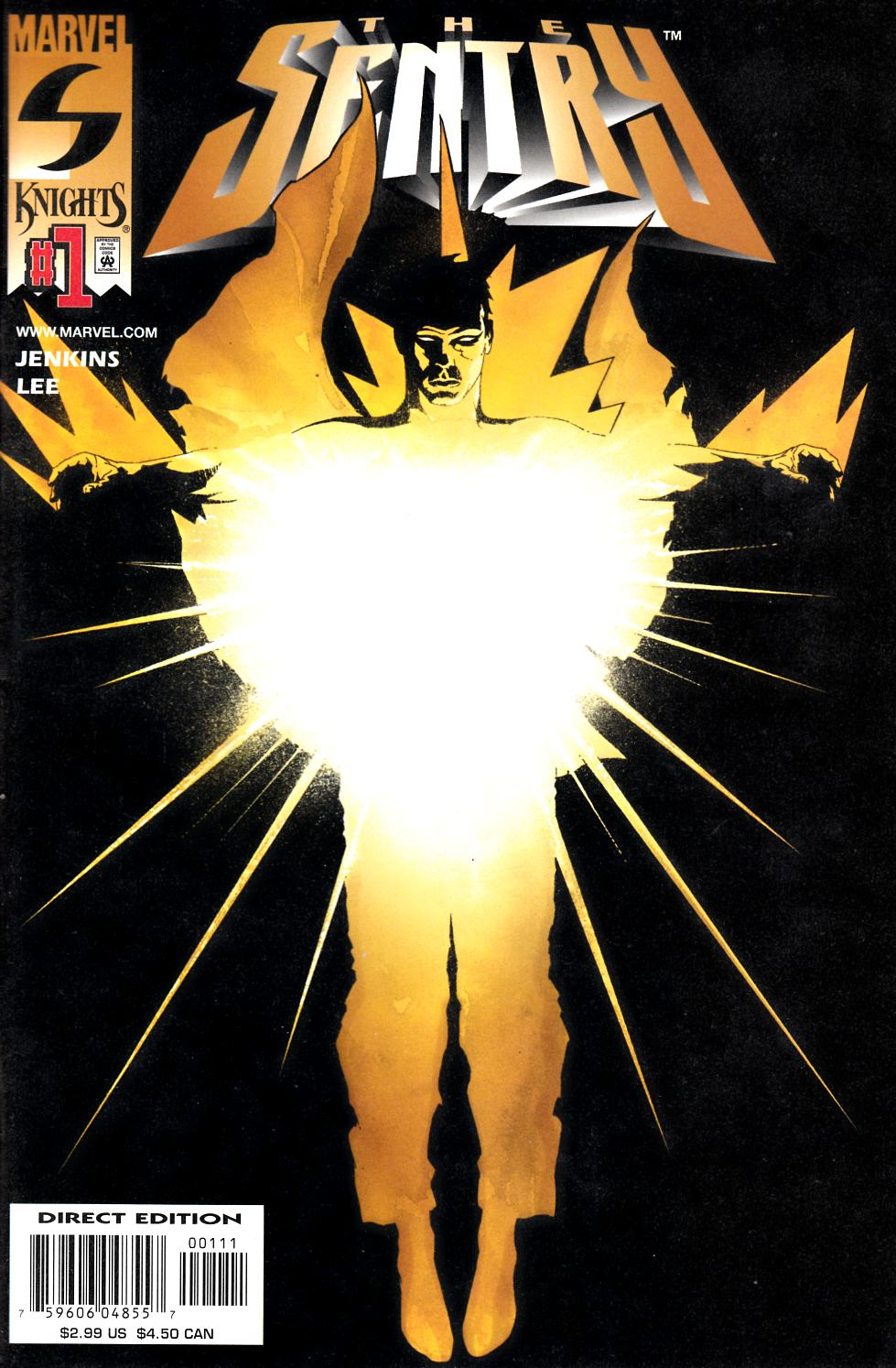Sentry #1 Near Mint Minus (9.2) [Marvel Comic] LARGE