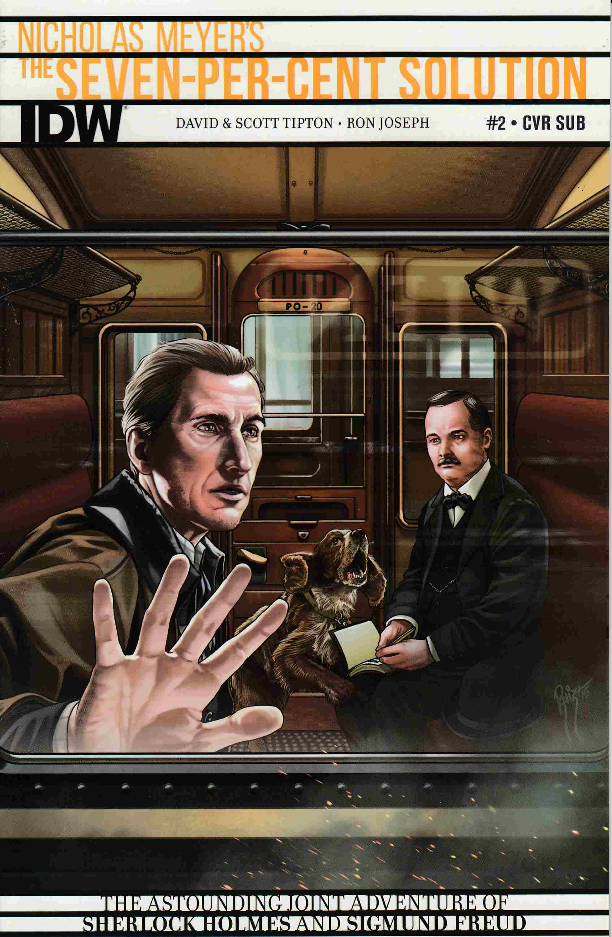 Sherlock Holmes 7 Per-Cent Solution #2 Subscription Cover [IDW Comic] THUMBNAIL